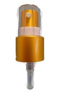 Serum Pump 20mm - Matt Gold - Bottles & Jar Accessories - Serum Pumps