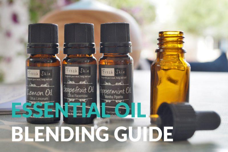 essential oils blending guide